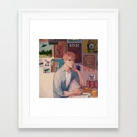 posters Framed Art Prints featuring posters by KEL H