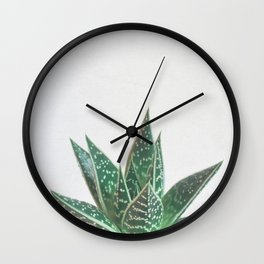 Aloe Tiki Wall Clock