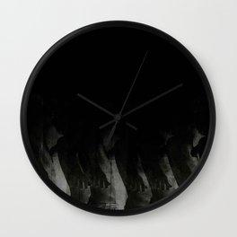 Black Cloud Wall Clock