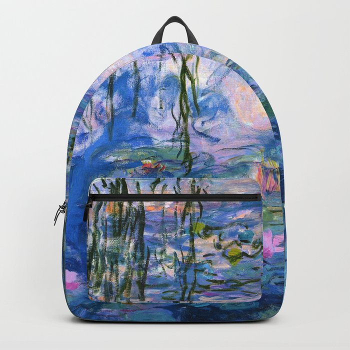 Water Lilies Monet Backpack