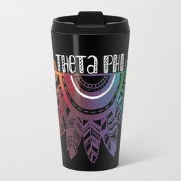 Theta Phi Arrow Travel Mug