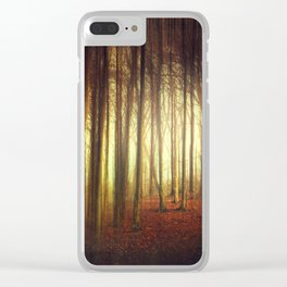 passage into the light Clear iPhone Case