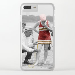 Fashion Police Clear iPhone Case