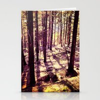 western Stationery Cards featuring Western Woods by Ken Seligson