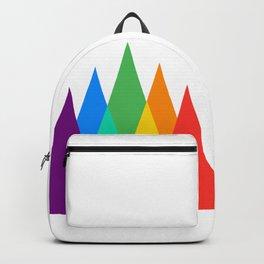 Rainbow Bear Pride LGBT GAY pride season gay bears mountains gift Backpack