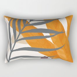 Colorful Red Leaves Rectangular Pillow