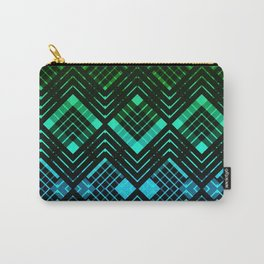 TARTAN REVISTED - GREEN Carry-All Pouch