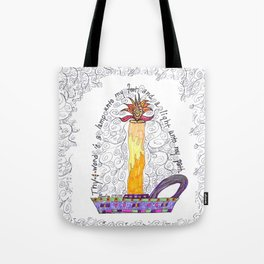 Thy Word Is A Light Tote Bag