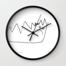 [angry caterpillar] - nadya 3 yr Wall Clock