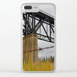1923 Clear iPhone Case