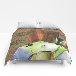 I Like Turtles Comforters