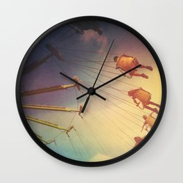 Swinging From The Sun Wall Clock