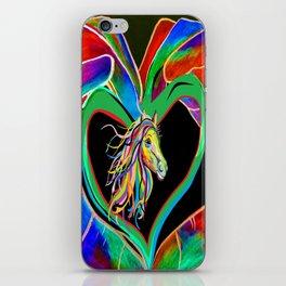 I HEART my HORSE! iPhone Skin