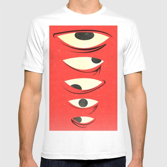 know where to look T-shirt