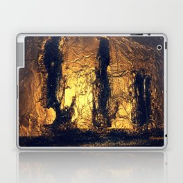 COLLAGE LOVE   SHIPWRECK AT THE BOTTOM OF THE SEA Laptop & iPad Skin