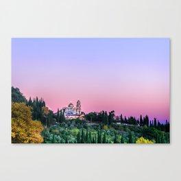 New Athos, Abkhazia Canvas Print
