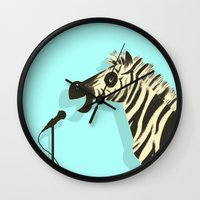 humor Wall Clocks featuring Observational Humor by David Kantrowitz