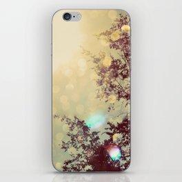 golden sky iPhone Skin