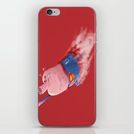 Super Pigs Can Fly iPhone Skin