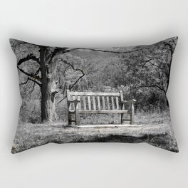 Park Bench Rectangular Pillow