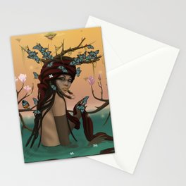 Guardian & starlings. Stationery Cards