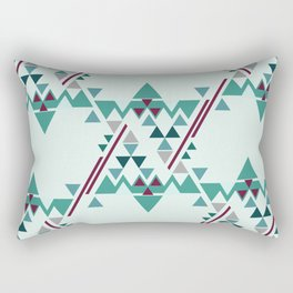 Winter Pattern Rectangular Pillow