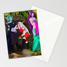 Elven sisters Stationery Cards
