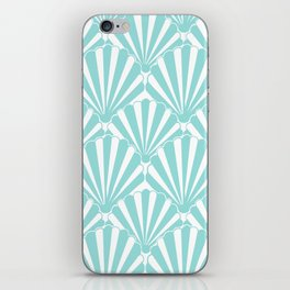 Sea shell Blue iPhone Skin