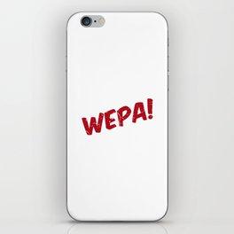 Wepa! iPhone Skin