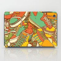 shoe iPad Cases featuring If the Shoe Fits by Alvaro Arteaga