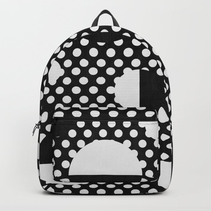 It's Black, It's White Backpack
