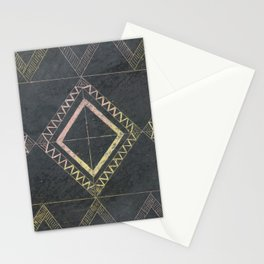 Scratched Ink Stationery Cards