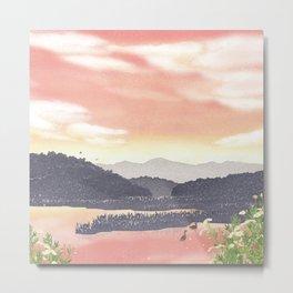 At the end of Summer | Miharu Shirahata Metal Print
