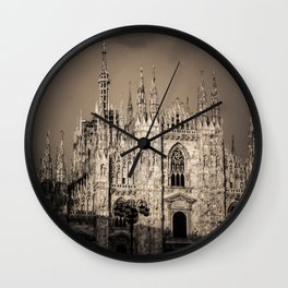 Duomo of Milan, Cathedral in the center of Milan Wall Clock