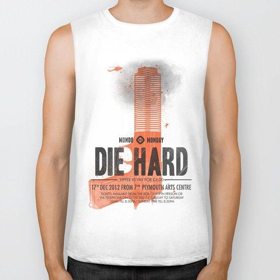Die Hard (Full poster variant) Biker Tank