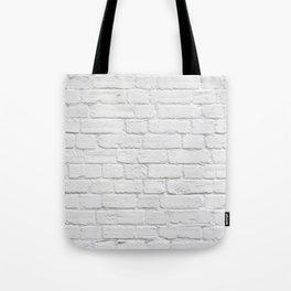 White Brick Wall Tote Bag
