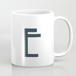 Art Deco Letters -  E Coffee Mug