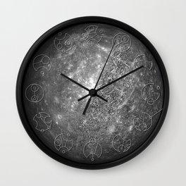 Gallifreyan Clock (Mercury) Wall Clock