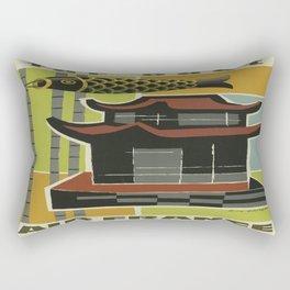 Vintage poster - Far East Rectangular Pillow