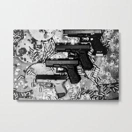 Steel n Ammo Metal Print