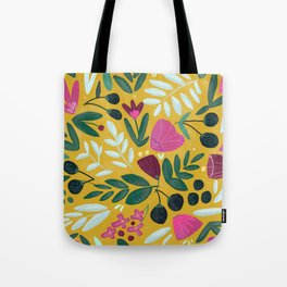Mustard bouquet Tote Bag