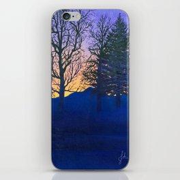 Purple Dawn iPhone Skin