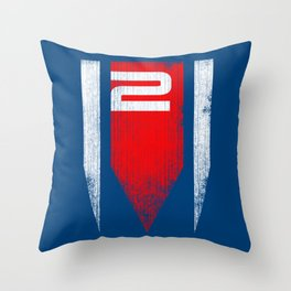 ME2 - Mass Effect Throw Pillow