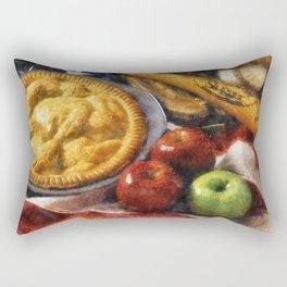 Home Made Apple Pie Rectangular Pillow