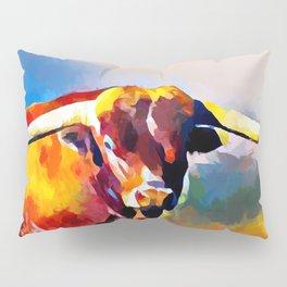 Texas Longhorn 4 Pillow Sham