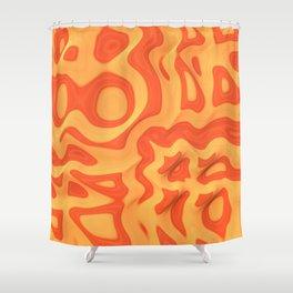 Orange: The Fun Color Shower Curtain