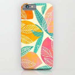 Abstract Mango iPhone Case