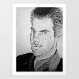 Zachary Quinto - Sylar Art Print