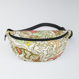 Kamasutra LOVE - Retro Yellow Fanny Pack