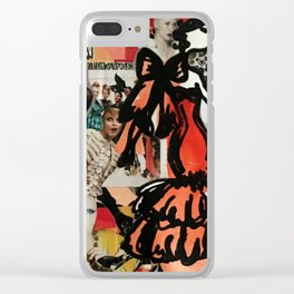 Fashion Calls Me Clear iPhone Case